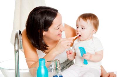 Гигиена полости рта у младенцев