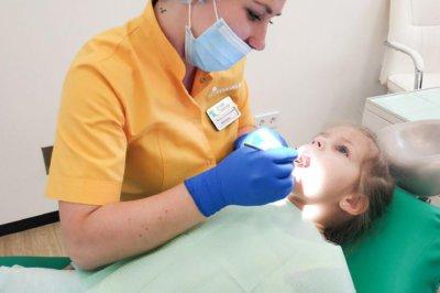 пломбирование детских зубов