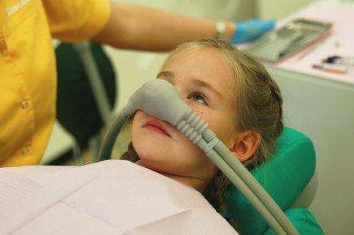 лечение зубов ребенку седация
