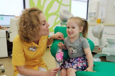 фторирование детских зубов